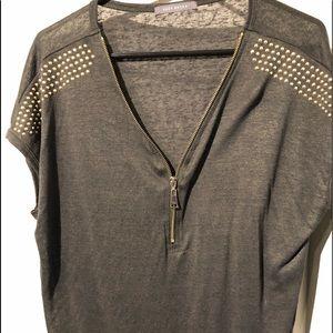 Short dolman sleeve shirt